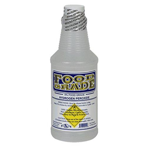 Food Grade Hydogen Peroxide (H2O2), 16 fl.oz