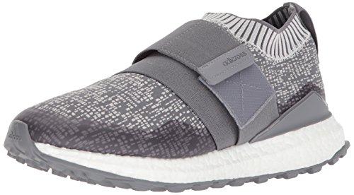 adidas Men's Crossknit 2.0 Golf Shoe, Grey Three Grey one Collegiate Navy, 10 Medium US