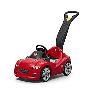 Step2 Whisper Ride Cruiser Ride-On Toy Red  Amazon Exclusive