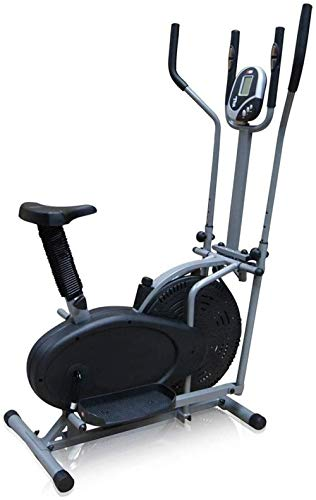 Crosstrainer Elliptische training Crosstrainer Machine voor fitness Krachttraining Workout thuis of sportschool Magnetische cardiotraining 110x50x155cm(Upgrade)