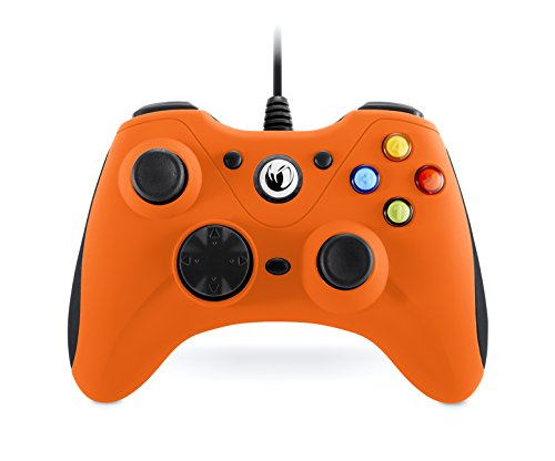 Nacon - Controlador Gaming, Color Naranja (Windows XP, Vista, 7, 8, 10)