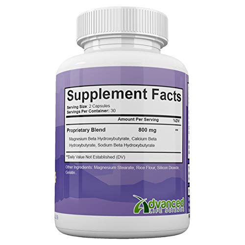 Ultra Fast Keto Boost - Advanced Weight Loss with Metabolic Ketosis Support - 800MG - 60 Capsules - 30 Day Supply 3
