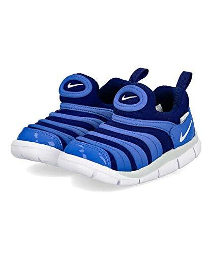 [ナイキ]女の子キッズ子供靴運動靴通学靴ベビーシューズスニーカーダイナモフリーTD軽量カジュアルスポーツスクール学校DYNAMOFREETD343938ブルーボイド/ピュアプラチナム12.0cm