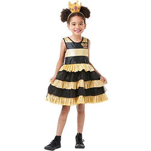 Rubie's, costume ufficiale LOL Surprise! Queen Bee Deluxe, per bambini, età 7-8 anni, altezza 128 cm