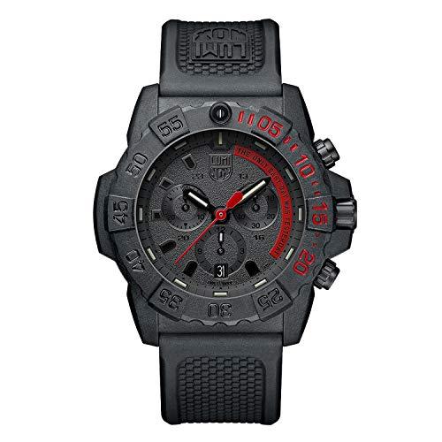 Luminox Unisex-Erwachsene Analog Automatik Uhr mit Gummi Armband XS.3581.EY