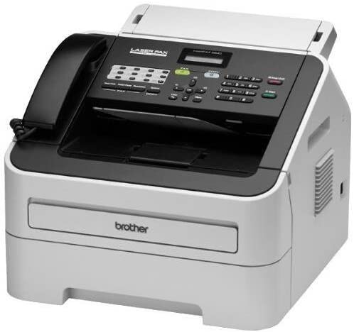 Brother FAX-2840 Mono Laser - Brother IntelliFax 2840 Mono Laser MFP (21ppm Print/21cpm Copy) (16MB) (8.5