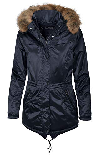 Pikeur Alania Parka Womens Riding Jacket UK 8 Reg Dark Navy