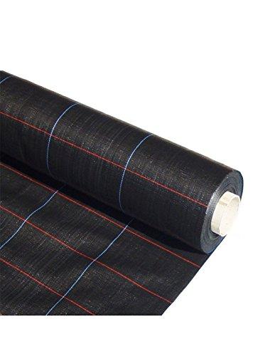 Jardin202 2 x 20 m - Malla Antihierbas (Negro) 120gr - Rollos completos | Varias Medidas| Seleccione la Medida