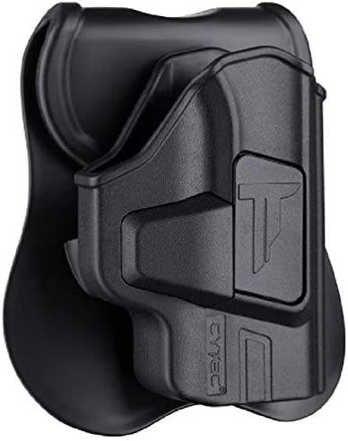 Polymer OWB Holster for S W M P Bodyguard 380 with Integrated Crimson Trace Laser No Laser Index product image