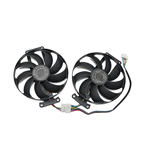 FDC10H12S9-C RTX 2060 Super 2070 GTX1660 TI Ventilador de refrigeración para ASUS GTX 1660 1660Ti Dual EVO OC RTX2060 Tarjeta de gráficos Fan