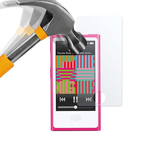 moodie Panzerglas Folie für iPod Nano 7G - Premium Glasfolie 9H Panzerglasfolie für Apple iPod Nano 7G
