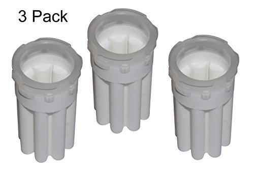 3 Pack Ölfiltereinsatz für Heizölfilter – SIKU, Filterfeinheit 35 µm