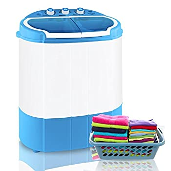 Portable Pyle Mini Washing Machine and Spin Dryer – Portable Electric Washing Machine