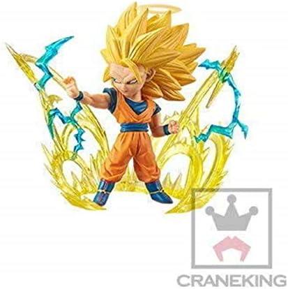 Dragon Ball Super Saiyan 3 Son Goku Character Mini Figure WCF World Collectible Burst 1 product image