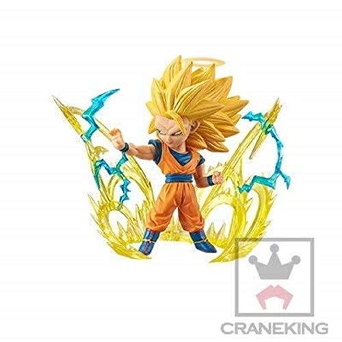 Dragon Ball Super Saiyan 3 Son Goku Character Mini Figure WCF World Collectible Burst 1