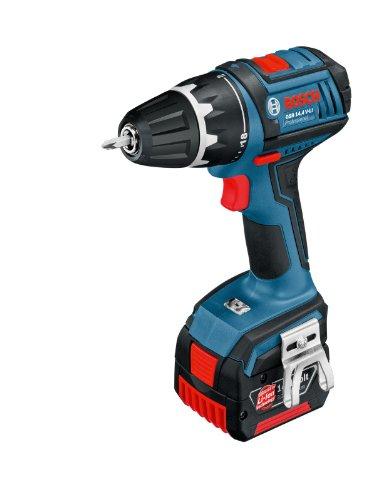 Bosch 0601866002 - Trapano senza fili 14,4 V, 2 batterie 14,4 V, 3,0 Ah, in valigetta