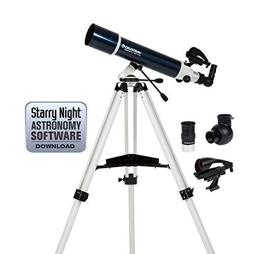 Celestron 22150 Omni XLT AZ 102mm Refractor (Blue)