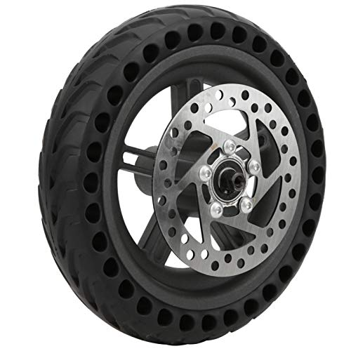 Freno de Disco, Rueda Trasera, aleación de Aluminio Resistente al Desgaste Fácil de Instalar Antideslizante para el Accesorio de Scooter eléctrico X-iaomi Pro