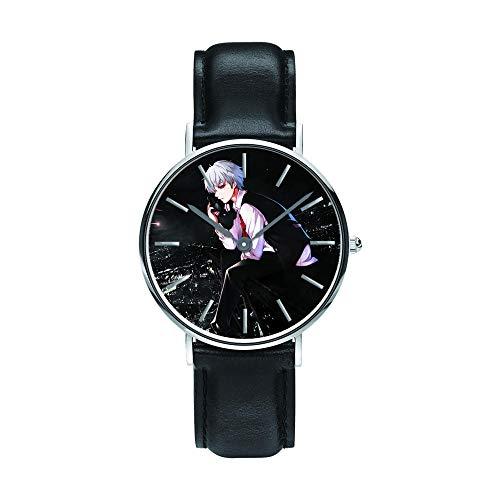 Reloj Deportivos para Niños Niño Niña Resistente al Agua Analógico Tokyo Ghoul Anime Watch Reloj Personalizado Unisex niños Regalos -F5