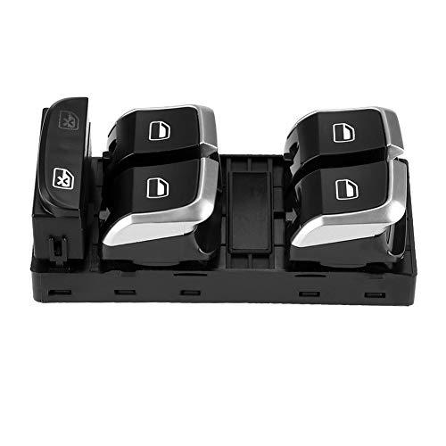 Interruptor de control de ventana eléctrica compatible con Audi A4 S4 B8 Q5 Interruptor de elevación de vidrio lateral de ventana, interruptor de ventana de automóvil 8KD959851A - 8K0959851F