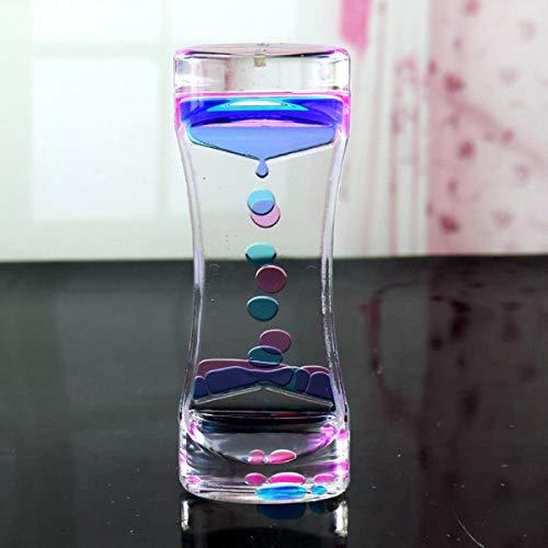 Greatangle Outlet Liquid Motion Bubbler pour Sensory Play Fidget Toy Enfants Activity Desk Top Couleurs Assorties