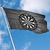 Gsixgoods Flagge Home Garden Flag Darts Target Polyester Flag Indoor/Outdoor Wall Banners Decorative Flag 3x5 FT