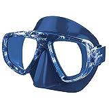 SEAC Extreme Máscara de Buceo y snokeling Estuche. Adaptación de Cristales graduados para la miopía, Unisex-Adult, Negro/Camo Azul, estándar