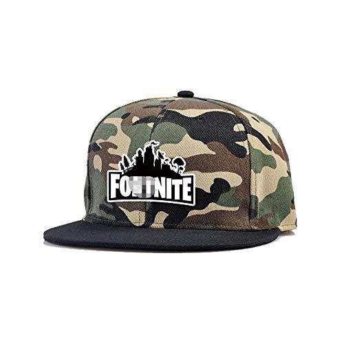 Battle Royale Unisex Adjustable Hats with Minifigure Hip Hop Baseball Caps Black
