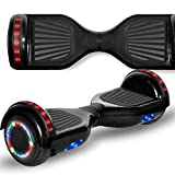 Longtime 6.5' Flashing Wheels Rechargeable Battery Self Balancing Scooter Electric Hoverboard for...