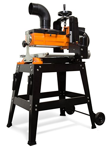 powerful WEN 65911 drum sander, 10.5 amps, 10 inches, with movable column and variable speed conveyor