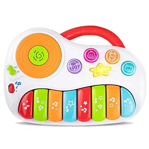 Toddler Piano, Baby Piano with DJ Mixer. Baby Musical Instruments for Educational Development. Electronic Play Piano. Kids Keyboard Piano 1 - 5 Years Age