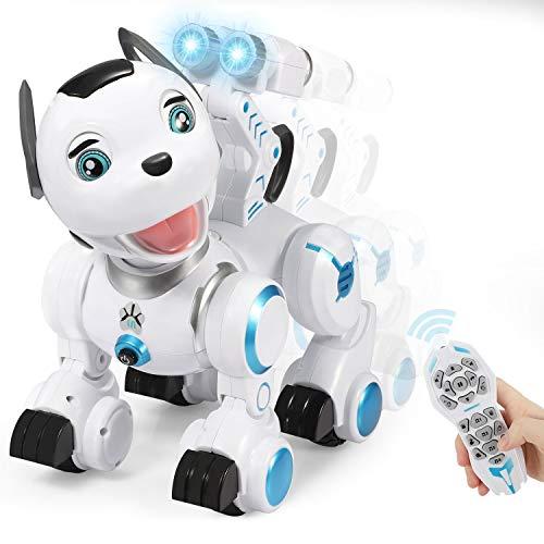 SGILE Robot Giocattolo Bambini, con Controllo dei Gesti, Programmabile Intelligente e modalità Pattuglia, Cantare Camminare Ballare Giocattolo per Bambini