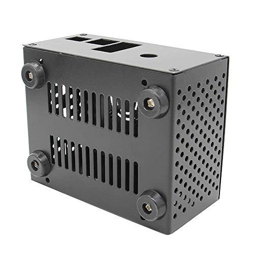 KONGZIR Coincidencia de Frambuesa Pi X820 V3.0 SSD y HDD SATA Junta de Almacenamiento Caja de Metal/Enclosure + enfriamiento + Interruptor de Control de alimentación de Ventilador Kit de Herramienta