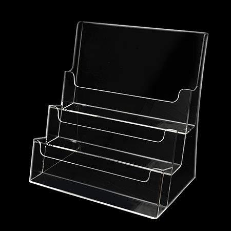 クルーズ アクリル製カタログケース A4 ヨコ (3段) CRC8103
