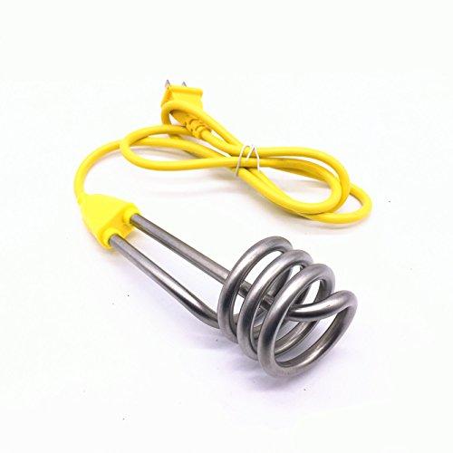 Tosmisy 220V 1600W 携帯湯沸かし器 ヒーター トラベルコイルヒーター 携帯湯沸し棒 湯沸しヒーター 海外旅行用 (004)
