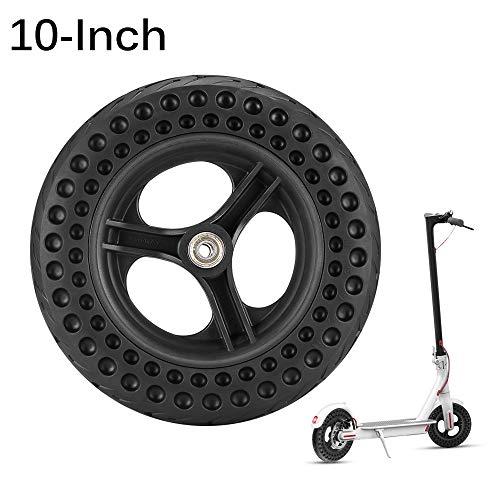 Houkiper Vervangende Wielen, 10 Inch Dikke Honingraat Tire Elektrische Scooter Spare Wheel, Compatibel met Xiaomi M365