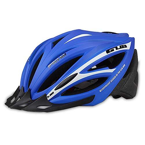 Casco de bicicleta 57-61 cm con visera removible, sombrero deportivo, 21 salidas, ciclismo Cascos de bicicletas Adultos ligeros ajustables para hombres para mujer para mujer para skateboard Mountain R