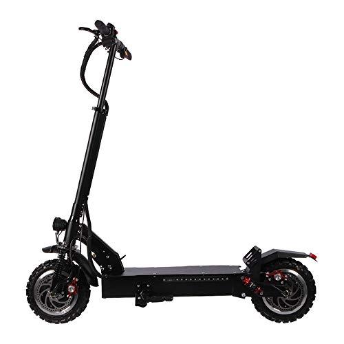 Scooter eléctrico ajustable 70 kilómetro de largo alcance Diseño portátil plegable Tráfico...