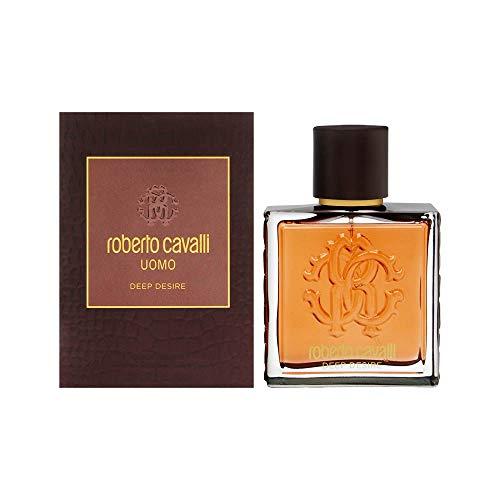 Roberto Cavalli Uomo Deep Desire by Roberto Cavalli Eau De Toilette Spray 3.3 oz / 100 ml (Men)