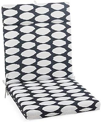 Amazon.com: Taupe - Cojín para silla de patio, diseño ...