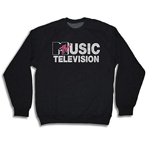 MTV Retro Logo Sweatshirt form Men, S to XXL