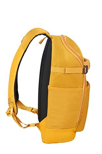 Samsonite Hexa-Packs - Laptop Backpack Small - Day Rucksack, 43 cm, 16 Liter, Dark Yellow