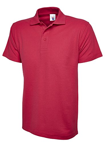 Uneek clothing - Polo - - Polo - Manches courtes Homme - Rose - Rose fluo - Large