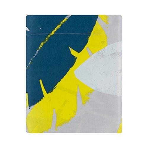 Essix - Drap Plat Ramage Satin de coton Multicolore 180 x 290 cm