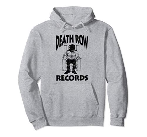 Death Row Records Black Logo Pullover Hoodie