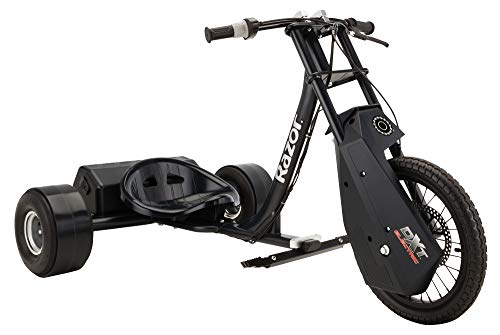 Razor DXT Electric Drift Trike , Black , 36 Volt