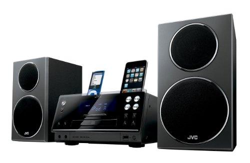 JVC UX-F3HE Home-Stereoanlage Heim-Audio-Mikrosystem Grau 60 W - Home-Stereoanlagen (Heim-Audio-Mikrosystem, Grau, 1 Disks, 60 W, 4 mm, 1,2 cm)