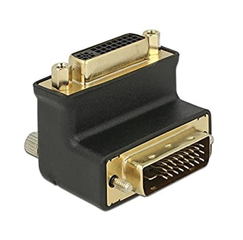 DeLock 65866 DVI-D DVI-I Negro - Adaptador de cable (DVI-D, DVI-I, Macho/Hembra,...