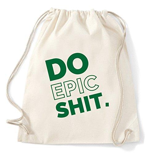 Art T-shirt do-epic-shit-sac - Mochila casual de Algodón Niños blanco perla (ral...