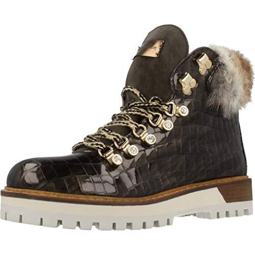 Alpe Woman Shoes Damen Stiefeletten 3906.50.30 grün 756631